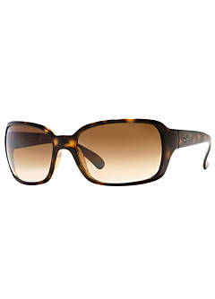 fa453b7ff1 Ray-Ban® Havana Brown Gradient Lens Ladies Sunglasses